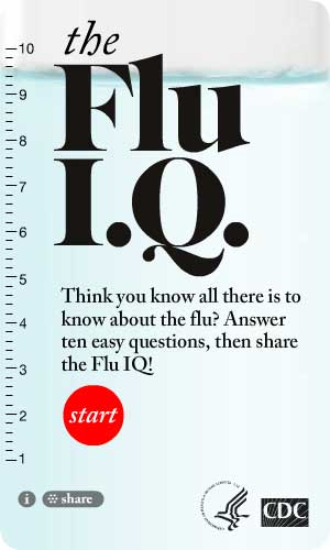 Flu IQ Widget. Flash Player 9 or above is required.