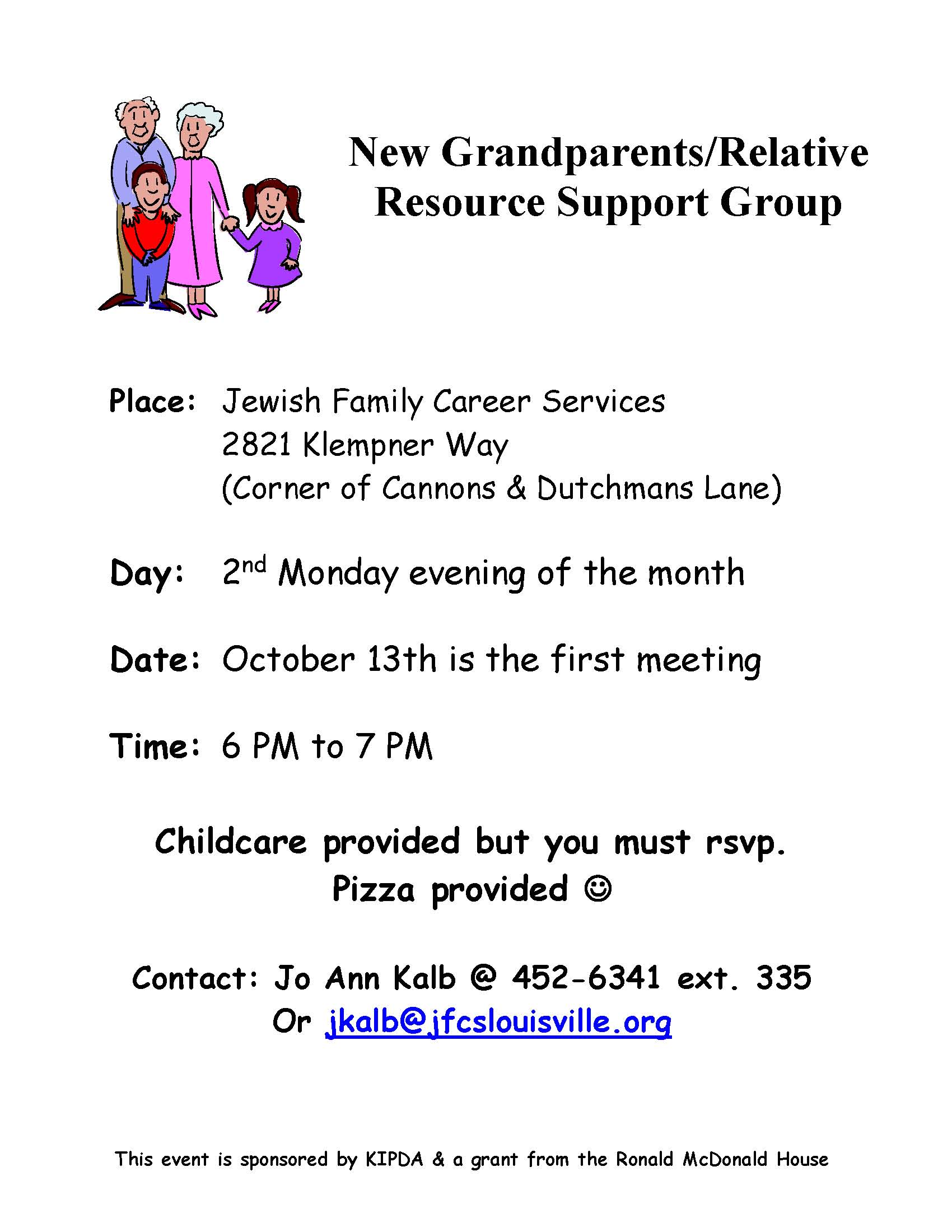 JFCS Grandparent  Support Group