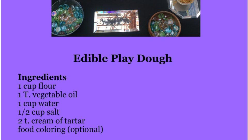 Play dough recipe picture